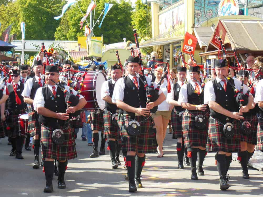 Bagpipes Police Funerals