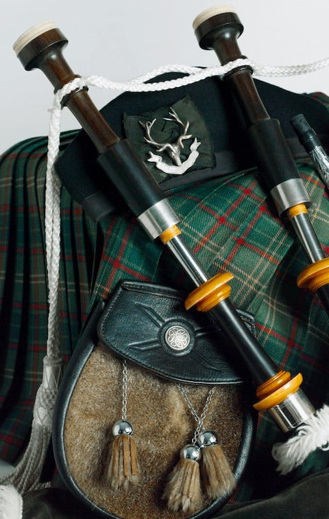 How to wear a kilt casually