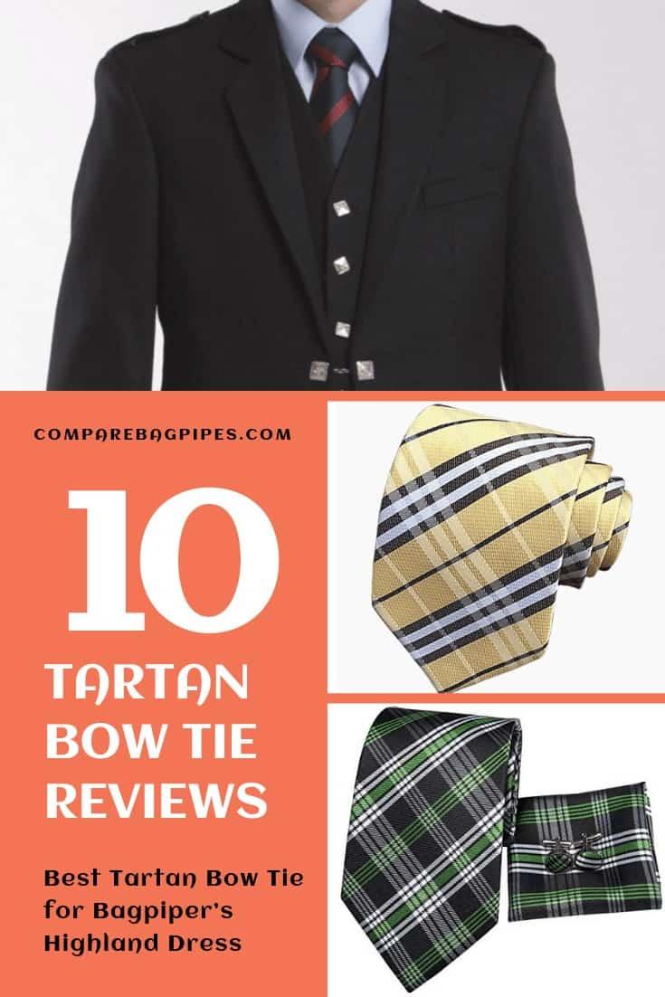 Best Tartan Bow Tie for Bagpiper's Highland Dress