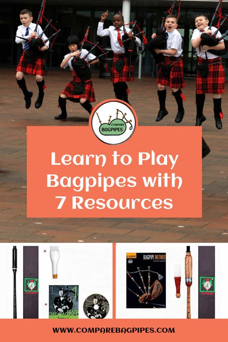 Learn to Play Bagpipes with 7 Resources