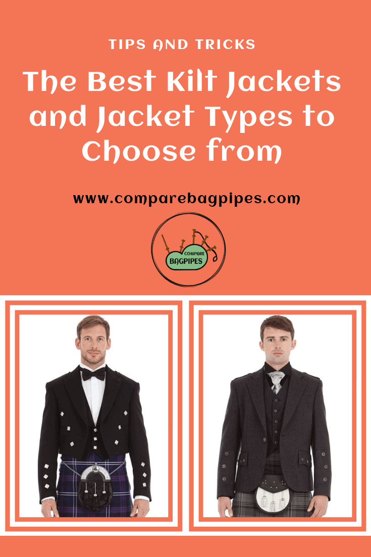The Best Kilt Jackets and Jacket Types to Choose from